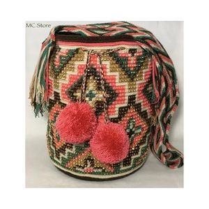 6591ce3dde27 Handbags - Mochila Wayuu multicolor